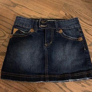 YMI girl's denim skirt.